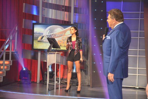 Alejandra Espinoza estuvo muy atenta todo el tiempo de lo que pasaba det...