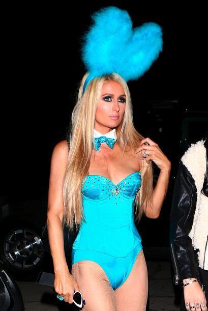 Ella optó por la sensualidad de conejita de playboy antes que cualquier...