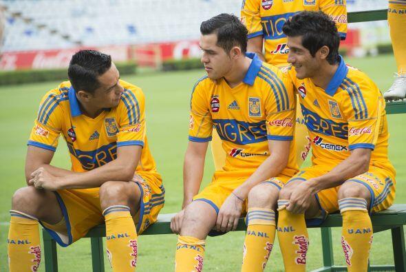 TIGRES  Juninho, Hernán Burbano, Danilinho, Guido Pizarro, Emanuel Villa...