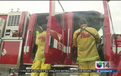 Bomberos de San José reciben entrenamiento para evitar y combatir incend...