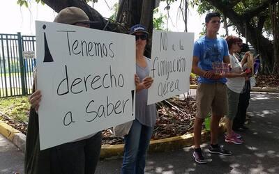 Protestan contra uso de pesticida conocido como naled en Puerto Rico