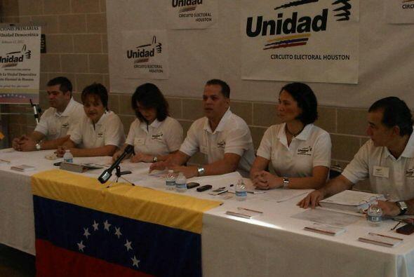 Los pre-candidatos son: Diego Arria, Henrique Capriles Randonski, María...