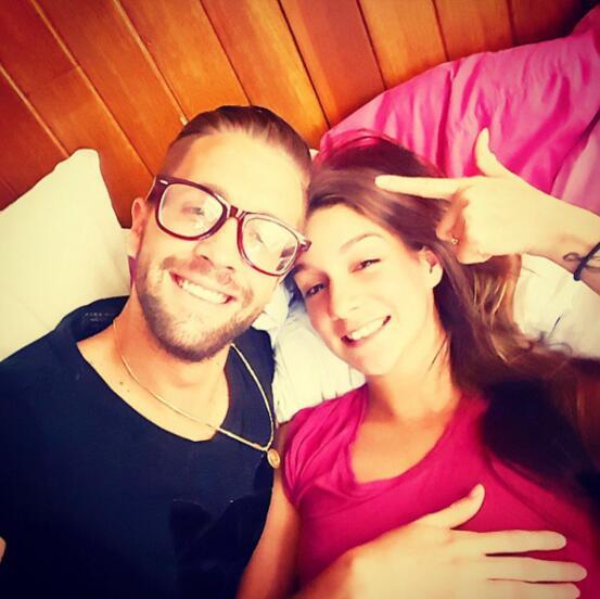 Eleane Puell y Jesús Carús