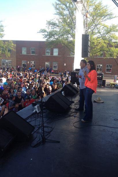 Maity agradeció a todas las familias que asistieron a este evento sin ig...
