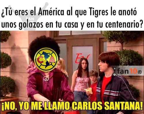 memes america tigres