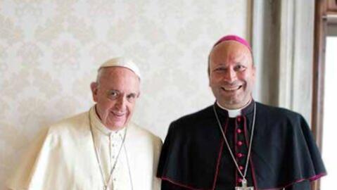Papa Francisco y Franco Coppola
