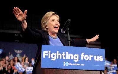 Hillary Clinton en NY
