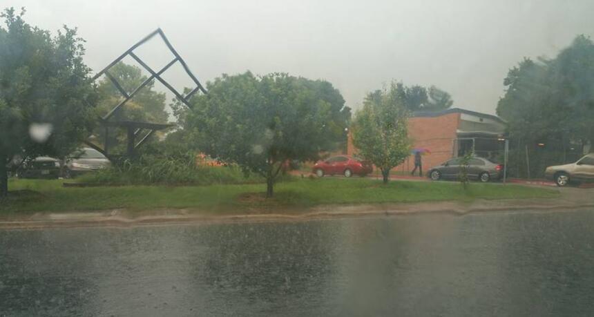 La audiencia compartió fotos de la zona tras el paso de la tormenta Bill.