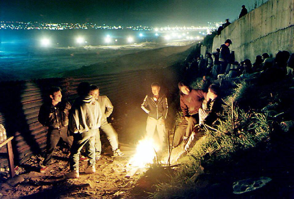 La gente del muro
