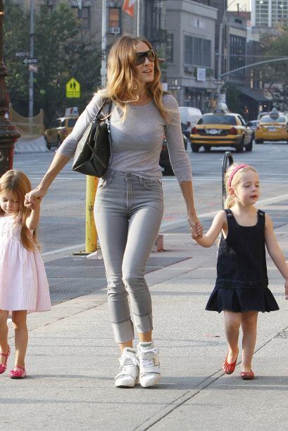 Para marcar tendencia también están las hermosas hijas de una de las fam...