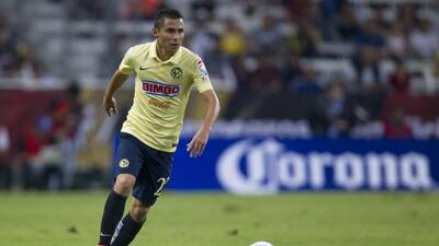 El lateral americanista se perderá la ida ante Monterrey.