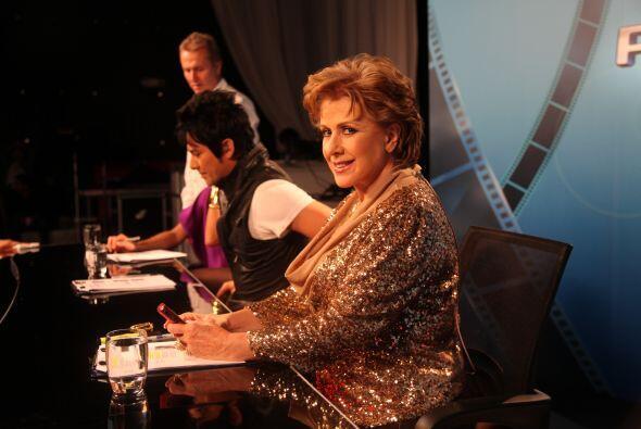 Laura Zapata es la jueza de hierro. La actriz compartirá su experiencia...