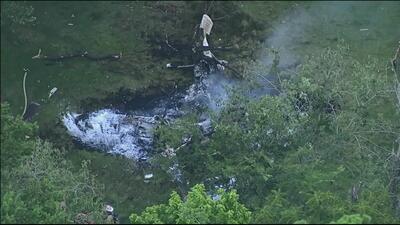 Una avioneta se estrelló al oeste de Houston