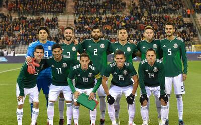 La selección mexicana afina su preparación rumbo a Rusia 2...