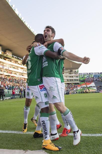 El León está hecho una 'Fiera' tras vencer 3-1 al Pachuca 100-goles-maur...
