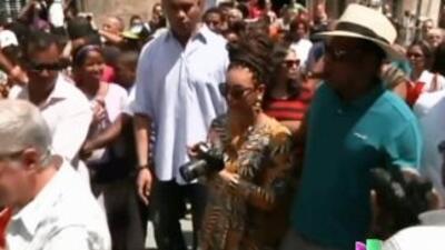 El viaje a Cuba de Beyonce y el rapero Jay-Z está provocando una dura po...