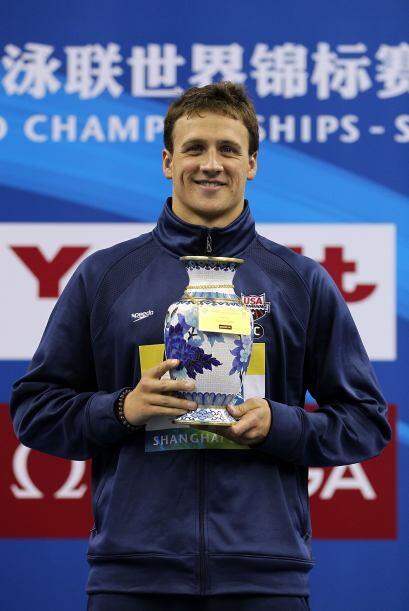 En estos Mundiales, Lochte se ha convertido en la estrella de la natació...