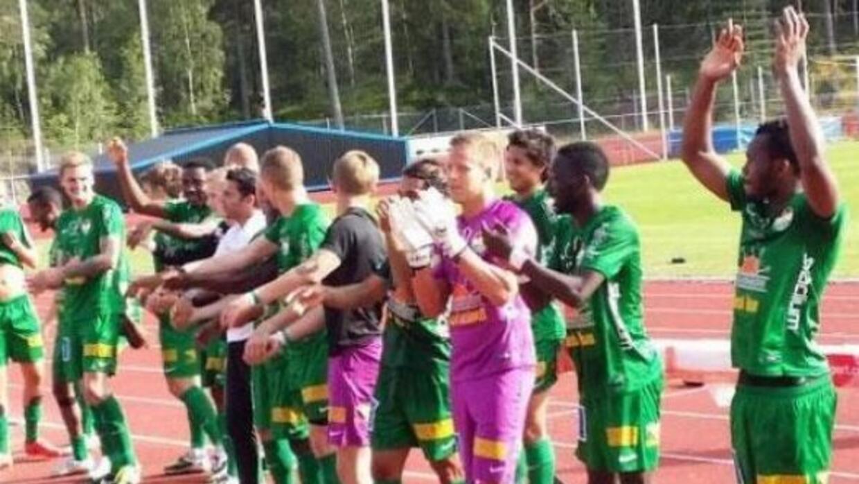 El equipo Dalkurd FF, de la tercera división de Suecia, se salvó del acc...