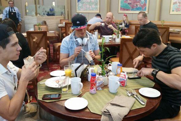 Un rico desayuno para otro día de lujo en L.A.