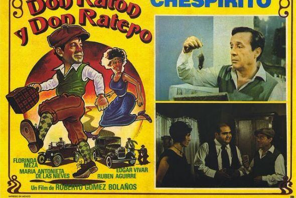En 'Don Ratón y Don Ratero', existen dos bandas de asaltantes que sostie...