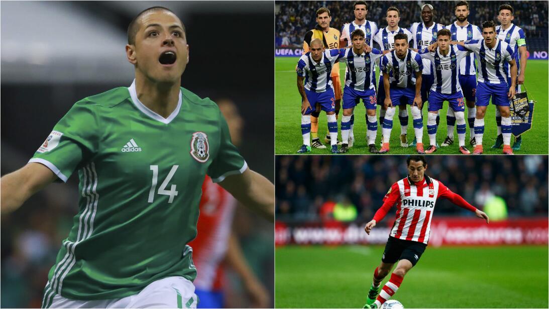 ¿Qué futbolistas mexicanos jugarán Champions o Europa League la próxima...