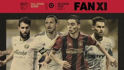 La espera terminó: estos son los Primeros Once de la Afición para el MLS All-Star Game
