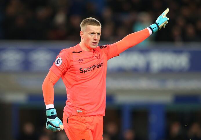 10. Jordan Pickford (Everton): el joven portero es, sin duda, el mejor j...