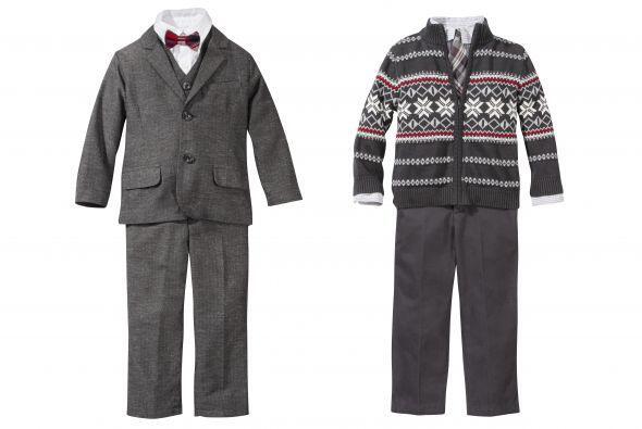 Para que tus hijos luzcan muy elegantes en Navidad, obséquiales u...