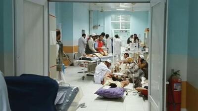Médicos sin fronteras y pacientes mueren tras bombardeo