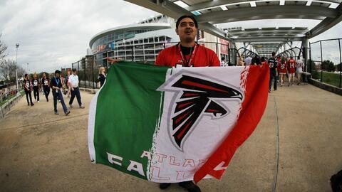 ¿Cómo vivieron los fanáticos el histórico partido entre Patriots y Falco...