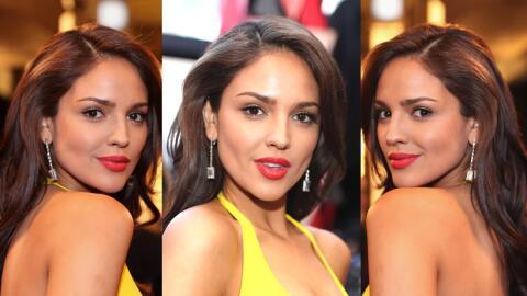Eiza González en la gala de los Oscar de 2018.