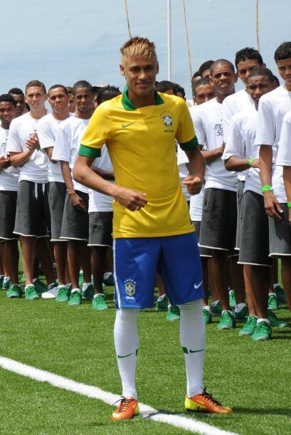 Neymar será la estrella de Brasil en esa competición.