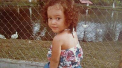 Así era Satcha Pretto de niña (su hija Alana cada día se parece más a ella)