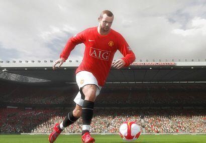 Wayne Rooney es bastante más habilidoso en el nuevo FIFA 2010.