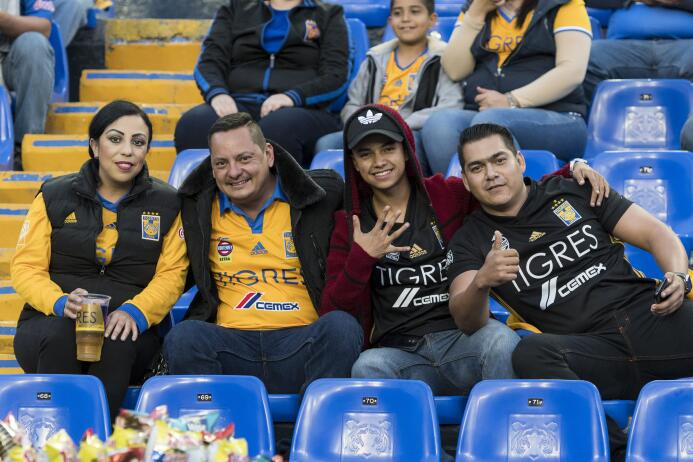 La afición de Tigres: Entre las más fieles de México 003 T Vancouver MxS...