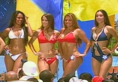 Chicas de Latinoamérica compitieron en el concurso Miss Independencia 2007