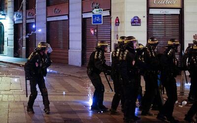 Disturbios en la final de la Eurocopa 2016