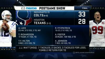 Highlights Semana 6: Indianapolis Colts vs. Houston Texans
