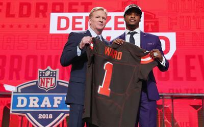 El CB fue la gran sorpresa en los primeros picks del Draft 2018.