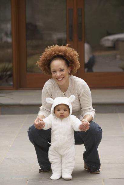 Una opción garantizada para que tu bebé diga 'boo' con estilo es un disf...