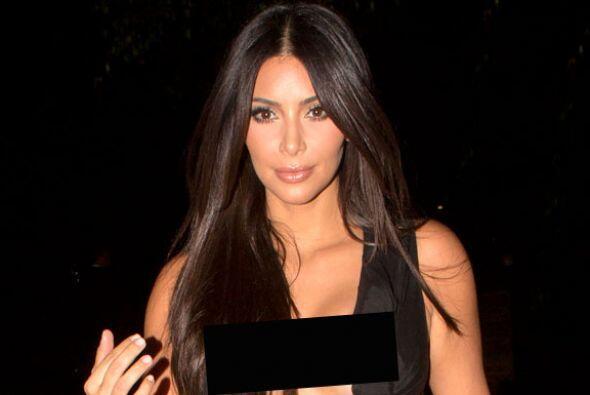 OMG! Kim Kardashian cada día nos sorprende más.