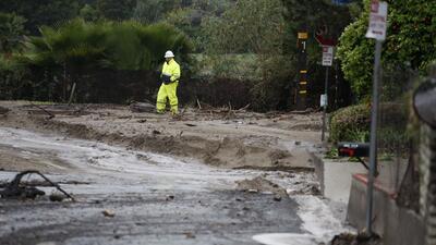 Autoridades de California piden a la comunidad extremar medidas de seguridad ante la posibilidad de deslaves