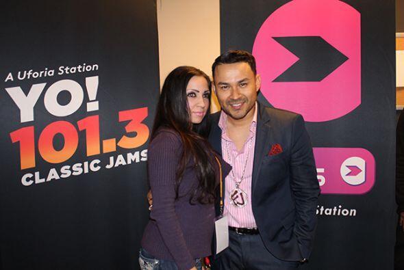 Latin Explosion 2015 - Frankie J Meet & Greet