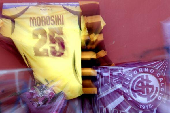 La camiseta con el 25 es un símbolo del Livorno.