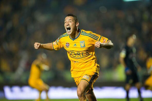 Jesús Dueñas, el mediocampista de Tigres demostró su mejor nivel en la p...