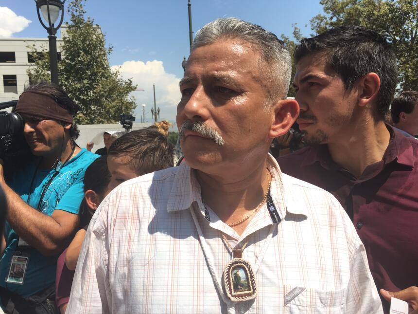 Un día después de su liberación, el mexicano participó en una conferenci...