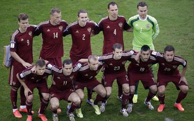 Rusia quedó eliminada en fase de grupos en Brasil 2014.