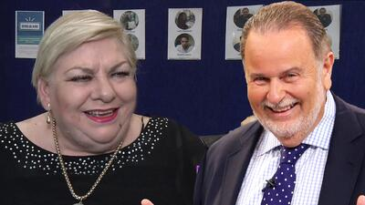 Entre risas, Paquita la del Barrio le dio unos consejos a Raúl de Molina para bajar de peso