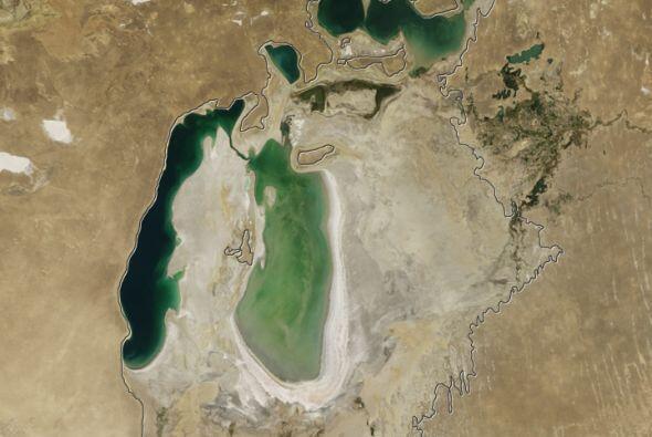 El agua se tornó más salada y con mayor nivel de contaminación por la co...