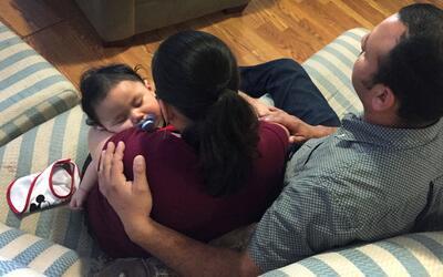 Oscar Sánchez y su esposa, Irma Quiñonez, fueron abordados...